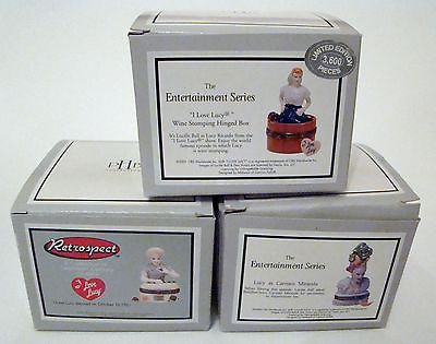 I Love Lucy SET of 3 PHB