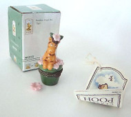 Classic POOH Mini Tigger on Flower Pot PHB