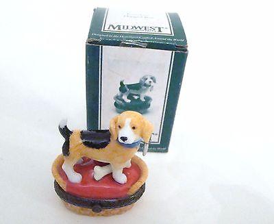 Beagle Dog Trinket Box PHB