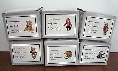 Beary Best Bears Series Set of 6 PHB