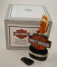 Harley-Davidson Logo with Gloves PHB