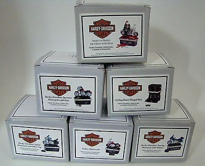 Harley-Davidson Motorcycles SET of 6 PHB