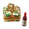 Gift Box Gold Ribbon Grapevine Rochard Limoges Box