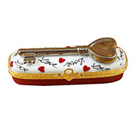 Key To My Heart Rochard Limoges Box