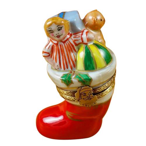 Christmas Boot Rochard Limoges Box