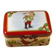 Lynn Haney - Santa Christmas Delights - Studio Collection Rochard Limoges Box