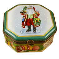 Lynn Haney - Making Spirits Bright - Studio Collection Rochard Limoges Box