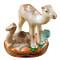 Camel W/Baby Rochard Limoges Box