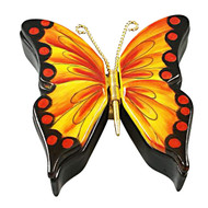 Double Hinged Monarch Butterfly Rochard Limoges Box