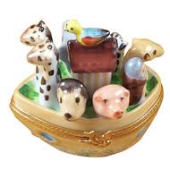 Noah'S Ark Rochard Limoges Box