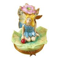 Flower Fairy Pink Rochard Limoges Box