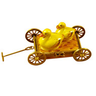 Two Ducks On Pull Cart Rochard Limoges Box