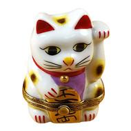 Happy Cat Rochard Limoges Box