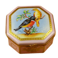 Studio Collection - Birds & Butterflies Rochard Limoges Box