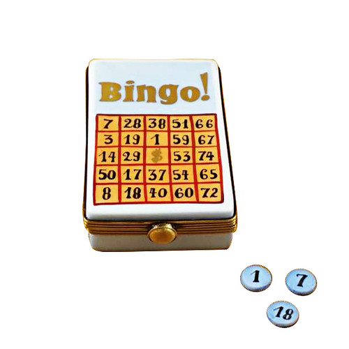 Bingo Game Rochard Limoges Box