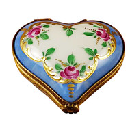 Mini Rose Heart Rochard Limoges Box