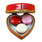 Heart With Three Macarons Rochard Limoges Box