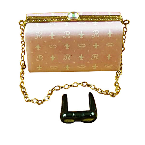 Pink Evening Bag Rochard Limoges Box