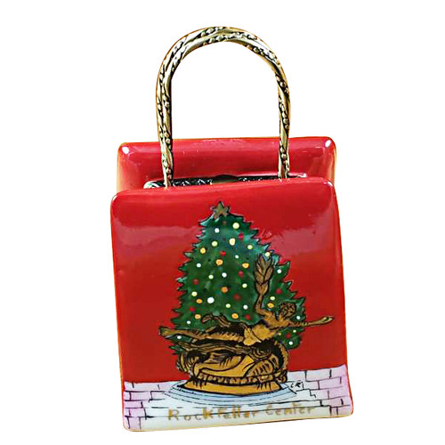 Christmas Shopping Bag Rochard Limoges Box