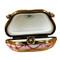 Handbag Maroon Rochard Limoges Box