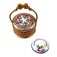 Hat Box - Sevres Limoges Box