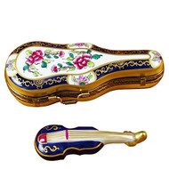 Violin Case Princess Decor Rochard Limoges Box