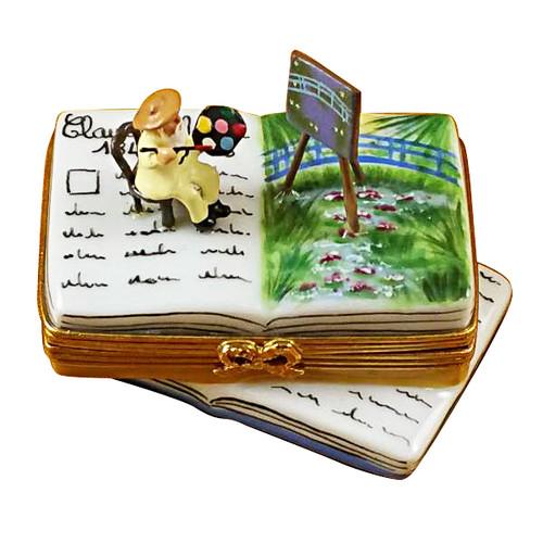 Book Monet/Water Lilies Rochard Limoges Box