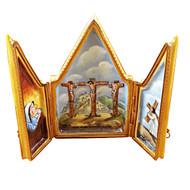 Triptych Crucifix Rochard Limoges Box