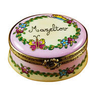 Oval Box - Mazeltov Rochard Limoges Box