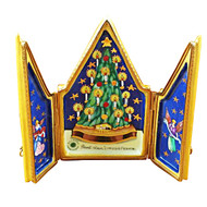 Triptych Christmas Tree Rochard Limoges Box