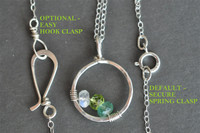 CIRCLE OF LOVE custom mother's family birthstone necklace (4 stones)