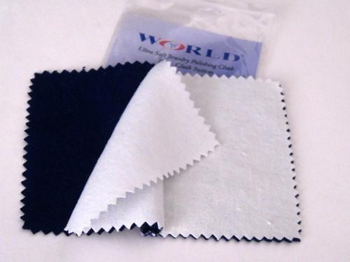 jewelry polishing cloth--ultra soft two cloth system