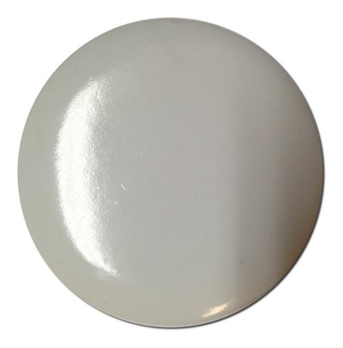 Printable Plastic Badge - White (58mm diameter)