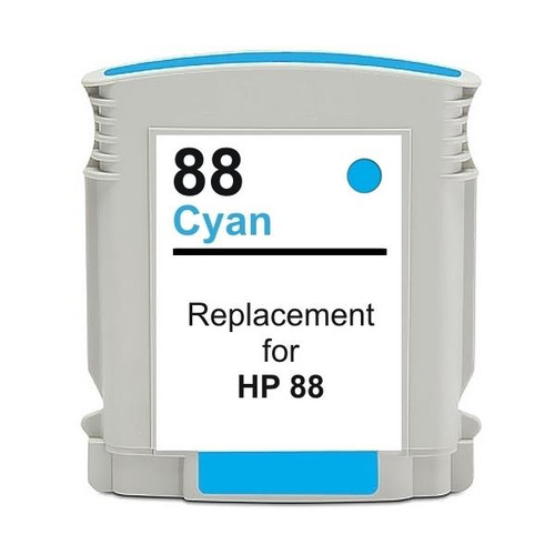 #88 Cyan High Capacity Remanufactured Inkjet Cartridge