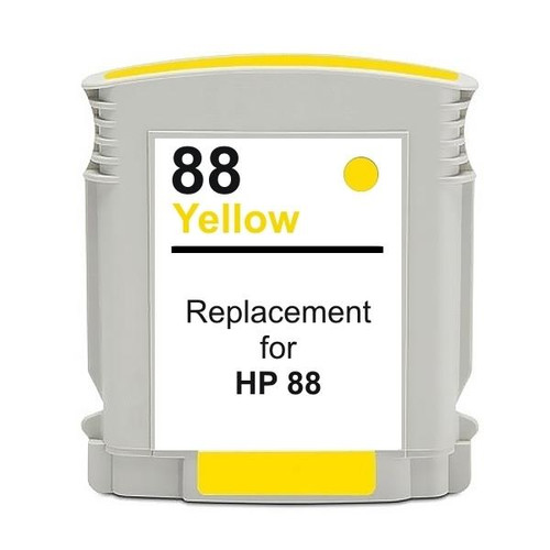 #88 Yellow High Capacity Remanufactured Inkjet Cartridge