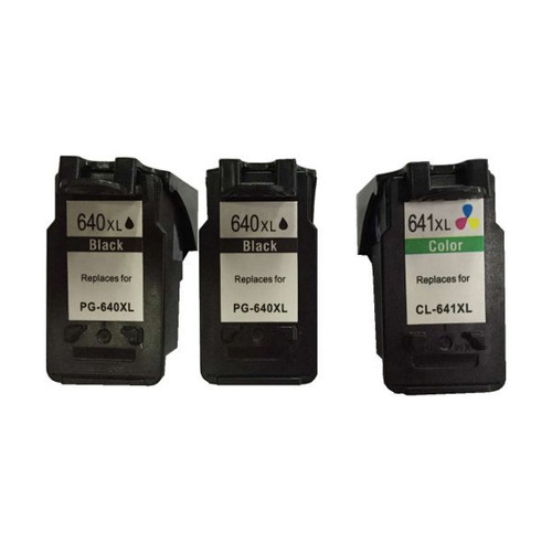 Remanufactured Value Pack (2 x PG640XL Black & 1 x CL641XL Colour)