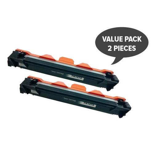 2 x TN-1070 CT202137 Premium Generic Toner