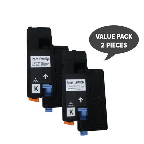 2 x CT201591 CP105/205 Premium Black Generic Toner