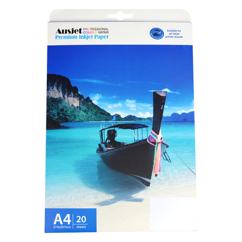 160gm A4 Doublesided Semi Gloss Photo (20 Sheets)