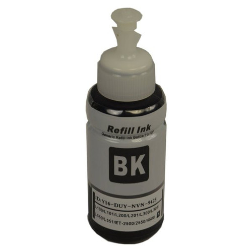 664 Generic Black Refill Bottle