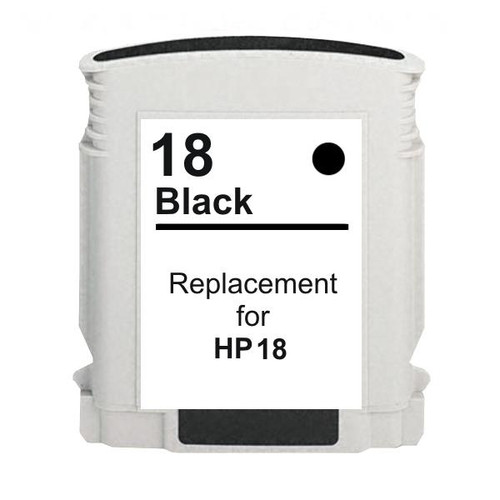 18 #18 Black High Capacity Remanufactured Inkjet Cartridge