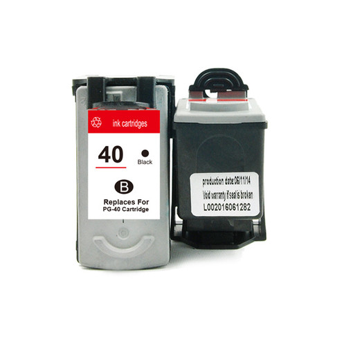 PG-40 Remanufactured Inkjet Cartridge with new chip