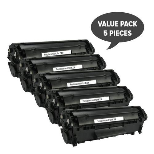 FX-9 Black Premium Generic Toner (Set of 5)