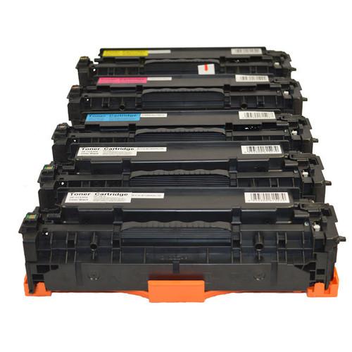 CC530A #304A CART-318CART-418 Series Premium Generic Toner Set PLUS Extra Black
