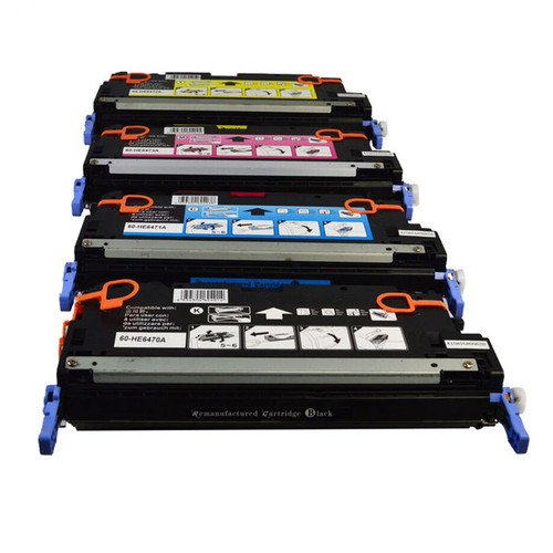 Q6470 Series Premium Generic Toner Set (4 Cartridges)