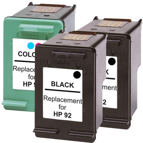 #92 Compatible Inkjet Cartridge Set #2  3 Cartridges