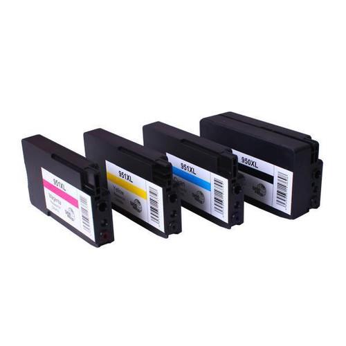 950XL 951XL Premium Compatible Inkjet Cartridge Set  4 Cartridges [Boxed Set]