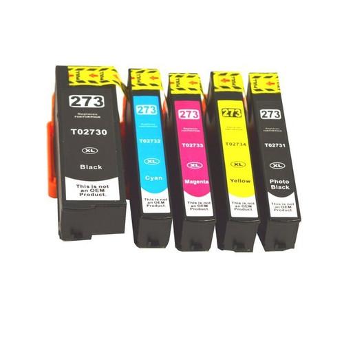 273XL Compatible Inkjet Set 5 Cartridges [Boxed Set]