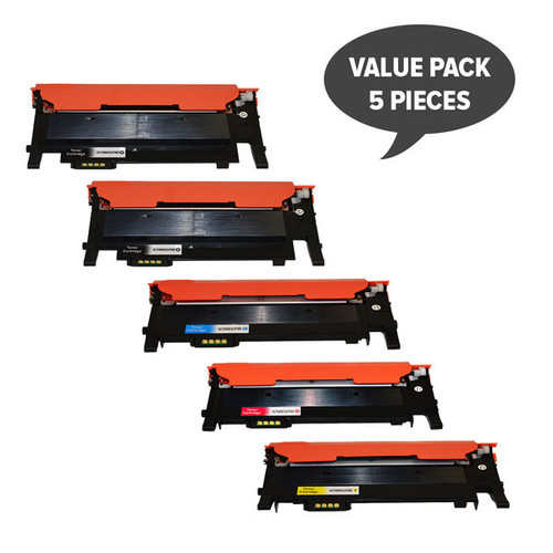 CLT-406 Premium Generic Colour Toner PLus EXtra Black Set