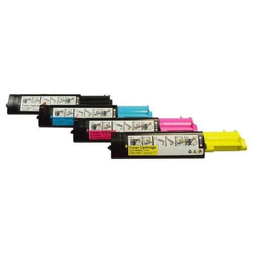 C525A Premium Generic Toner Set